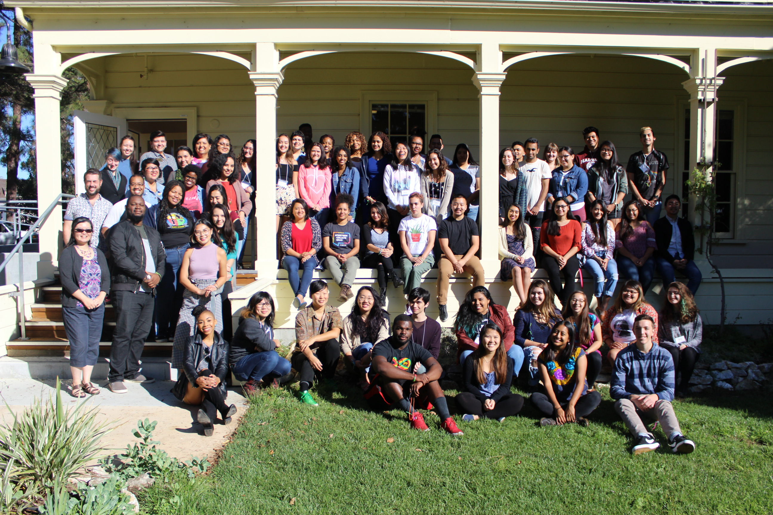 Students and Staff at the Annual Student Leadership Institute 2017